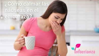 Como calmar las nauseas en el embarazo