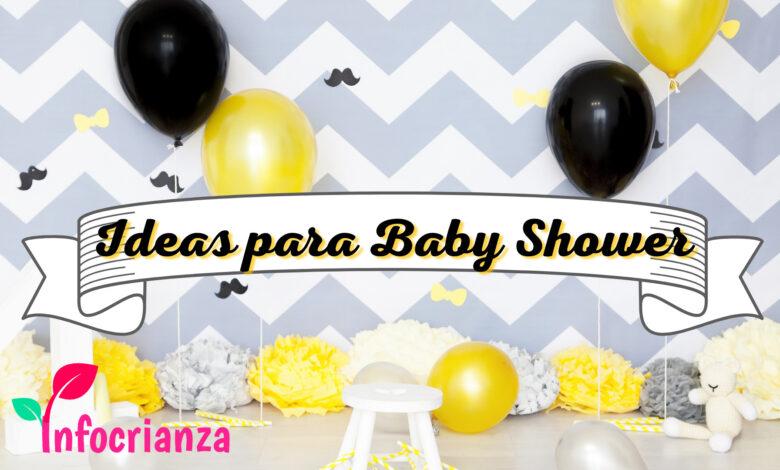 Ideas para baby shower, portada